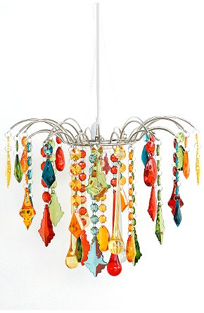 Colorful Chandeliers: Pocket Mouse Colorful Sparkly Chandeliers,Lighting